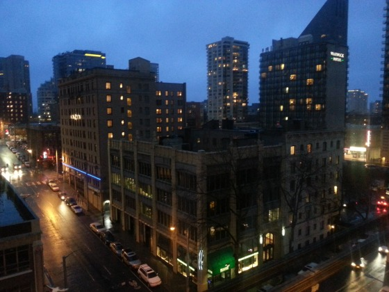 Seattle from The Westin