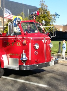 The Aerial 1 in the Veteran's Day Parade