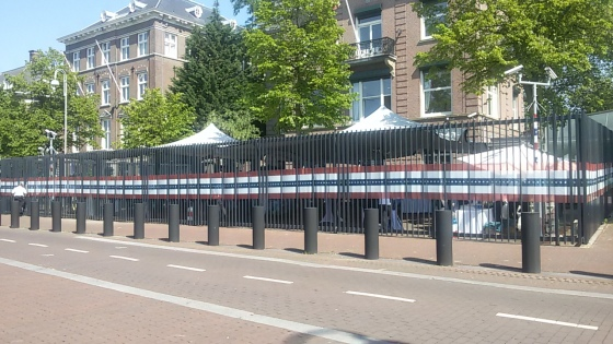 US Consulate in Amsterdam